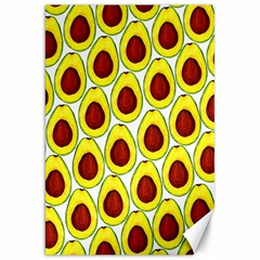 Avocados Seeds Yellow Brown Greeen Canvas 20  x 30