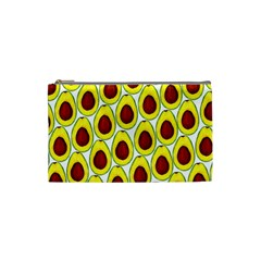 Avocados Seeds Yellow Brown Greeen Cosmetic Bag (Small)