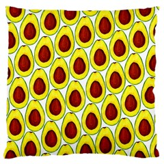Avocados Seeds Yellow Brown Greeen Standard Flano Cushion Case (One Side)