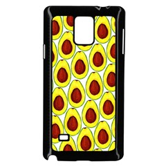 Avocados Seeds Yellow Brown Greeen Samsung Galaxy Note 4 Case (Black)