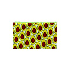Avocados Seeds Yellow Brown Greeen Cosmetic Bag (XS)