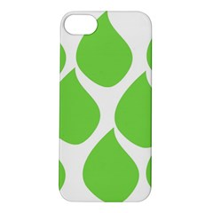 Green Water Rain Apple iPhone 5S/ SE Hardshell Case