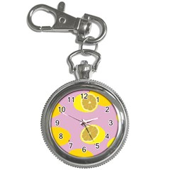 Fruit Lemons Orange Purple Key Chain Watches