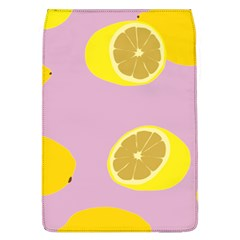 Fruit Lemons Orange Purple Flap Covers (L)