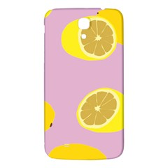 Fruit Lemons Orange Purple Samsung Galaxy Mega I9200 Hardshell Back Case