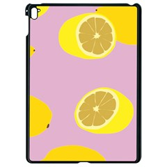 Fruit Lemons Orange Purple Apple Ipad Pro 9 7   Black Seamless Case