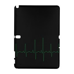 Heart Rate Line Green Black Wave Chevron Waves Galaxy Note 1