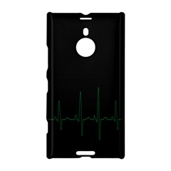Heart Rate Line Green Black Wave Chevron Waves Nokia Lumia 1520