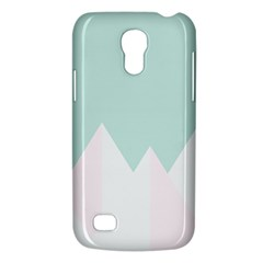 Montain Blue Snow Chevron Wave Pink Galaxy S4 Mini