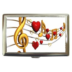Music Notes Heart Beat Cigarette Money Cases