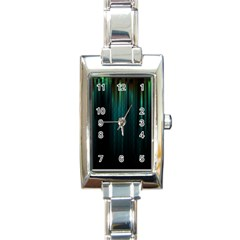 Lines Light Shadow Vertical Aurora Rectangle Italian Charm Watch