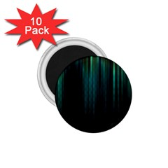 Lines Light Shadow Vertical Aurora 1.75  Magnets (10 pack)