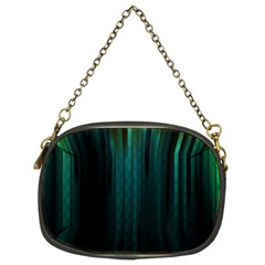Lines Light Shadow Vertical Aurora Chain Purses (Two Sides)