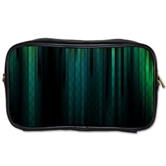 Lines Light Shadow Vertical Aurora Toiletries Bags