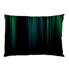 Lines Light Shadow Vertical Aurora Pillow Case (Two Sides)