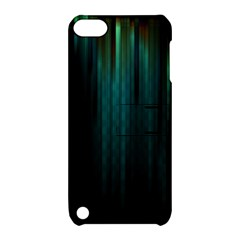 Lines Light Shadow Vertical Aurora Apple iPod Touch 5 Hardshell Case with Stand