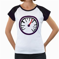 Maker Measurer Hours Time Speedometer Women s Cap Sleeve T