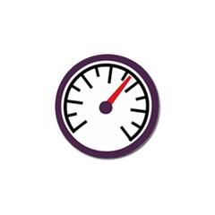 Maker Measurer Hours Time Speedometer Golf Ball Marker