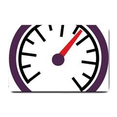 Maker Measurer Hours Time Speedometer Small Doormat