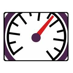 Maker Measurer Hours Time Speedometer Fleece Blanket (Small)