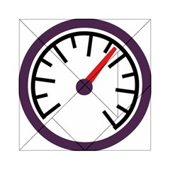 Maker Measurer Hours Time Speedometer Acrylic Tangram Puzzle (6  x 6 )