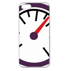 Maker Measurer Hours Time Speedometer Apple Seamless iPhone 5 Case (Clear)