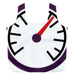 Maker Measurer Hours Time Speedometer Full Print Recycle Bags (L)