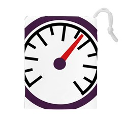 Maker Measurer Hours Time Speedometer Drawstring Pouches (Extra Large)