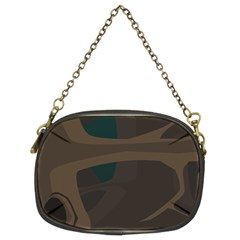 Tree Jungle Brown Green Chain Purses (Two Sides)