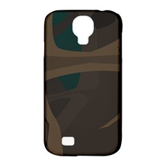 Tree Jungle Brown Green Samsung Galaxy S4 Classic Hardshell Case (PC+Silicone)