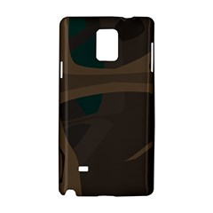 Tree Jungle Brown Green Samsung Galaxy Note 4 Hardshell Case