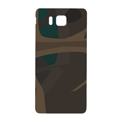 Tree Jungle Brown Green Samsung Galaxy Alpha Hardshell Back Case