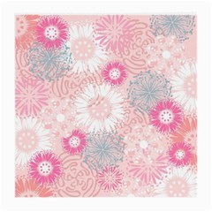 Scrapbook Paper Iridoby Flower Floral Sunflower Rose Medium Glasses Cloth