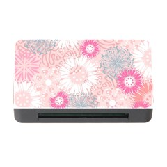Scrapbook Paper Iridoby Flower Floral Sunflower Rose Memory Card Reader with CF