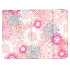 Scrapbook Paper Iridoby Flower Floral Sunflower Rose Samsung Galaxy Tab 7  P1000 Flip Case