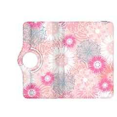 Scrapbook Paper Iridoby Flower Floral Sunflower Rose Kindle Fire HDX 8.9  Flip 360 Case