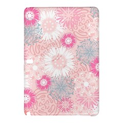 Scrapbook Paper Iridoby Flower Floral Sunflower Rose Samsung Galaxy Tab Pro 10.1 Hardshell Case