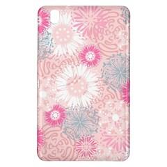 Scrapbook Paper Iridoby Flower Floral Sunflower Rose Samsung Galaxy Tab Pro 8.4 Hardshell Case