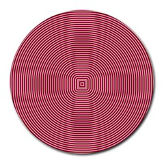 Stop Already Hipnotic Red Circle Round Mousepads