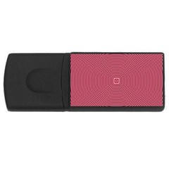 Stop Already Hipnotic Red Circle USB Flash Drive Rectangular (1 GB)