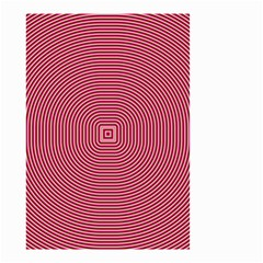 Stop Already Hipnotic Red Circle Small Garden Flag (Two Sides)