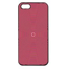 Stop Already Hipnotic Red Circle Apple iPhone 5 Seamless Case (Black)