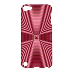 Stop Already Hipnotic Red Circle Apple iPod Touch 5 Hardshell Case