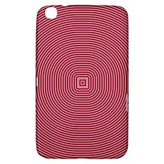 Stop Already Hipnotic Red Circle Samsung Galaxy Tab 3 (8 ) T3100 Hardshell Case