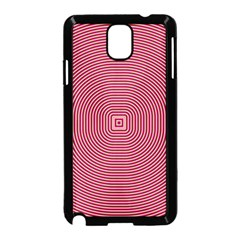 Stop Already Hipnotic Red Circle Samsung Galaxy Note 3 Neo Hardshell Case (Black)