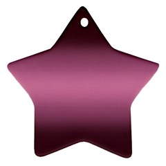 Decorative pattern Star Ornament (Two Sides)