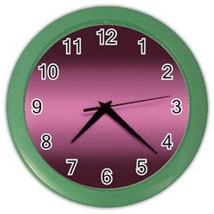 Decorative pattern Color Wall Clocks