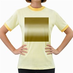 Decorative pattern Women s Fitted Ringer T-Shirts