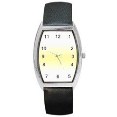 Decorative pattern Barrel Style Metal Watch