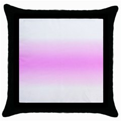 Decorative pattern Throw Pillow Case (Black)